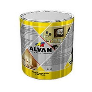 Матовая краска ALVAN черная краски в Шымкенте