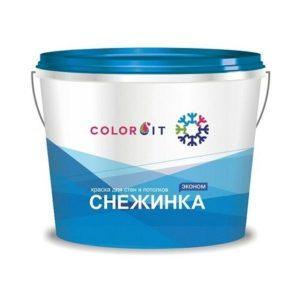 Colorit СНЕЖИНКА Эмульсия Интерьер 14 водоэмульсия в Шымкенте