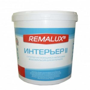 REMALUX эмульсия интерьер 2 10 кг в Шымкенте
