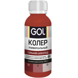 GOL горький шоколад 73 Колер в Шымкенте