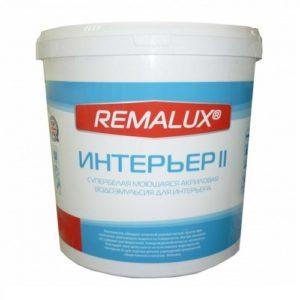 REMALUX Эмульсия интерьер 2.3 кг в Шымкенте